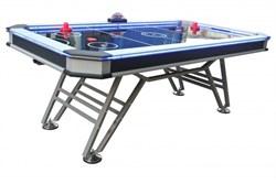 Игровой стол - аэрохоккей «Black Ice» 7 ф Wk (213 х 111 х 80 см, черный) - фото 702173