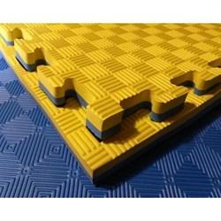 "Будо-мат (татами) (1 плита 100x100x2,5 см, 1кв.м./уп) ""5 полос"" - фото 703066"