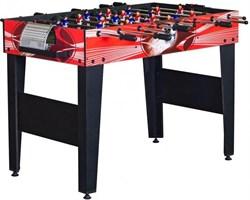 Настольный футбол (кикер) «Flex» (122x61x78.7 см, красный) wk - фото 703095
