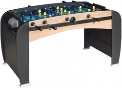 Настольный футбол (кикер) «Rialto» (141x73x82 см, светло-черный) wk - фото 704172