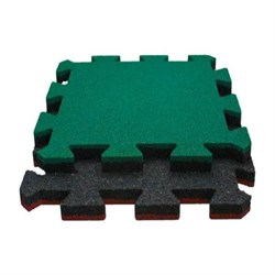 Модульное напольное покрытие Rubblex Roof Puzzle 100x100 см - фото 705063