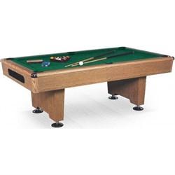 Бильярдный стол для пула Eliminator 7 ф (дуб) в комплекте, аксессуары + сукно Wk - фото 705821