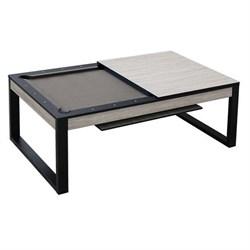 Бильярдный стол для пула Pride 7 ф (беленый дуб) со столешницей, в комплекте аксессуары + сукно Wk - фото 705827