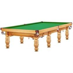 Бильярдный стол для русского бильярда Dynamic Prince 12 ф (дуб) Wk - фото 705880