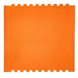 "Коврик-пазл EcoCover (1 плита 100х100х1,4см, 1кв.м./уп) ""Оранжевый"" - фото 707228"