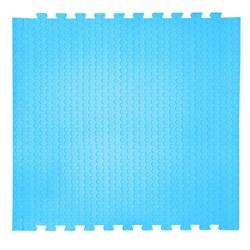 "Коврик-пазл EcoCover (1 плита 100х100х1,4см, 1кв.м./уп) ""Голубой"" - фото 707243"