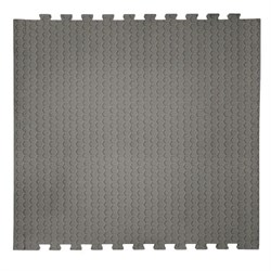 "Коврик-пазл EcoCover (1 плита 100х100х1,4см, 1кв.м./уп) ""Серый"" - фото 707286"