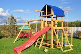 Детская деревянная площадка  для дачи «Мадрид 11»