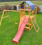 Детская деревянная площадка  для дачи «Мадрид 12»