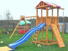 Детская деревянная площадка  для дачи «Мадрид 14»