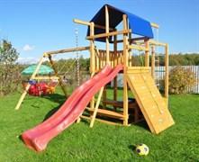 Детская деревянная площадка  для дачи «Мадрид 32»
