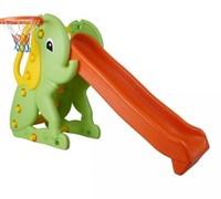 """Горка Pilsan """"Слон"""" с баскетбольным кольцом МС"""