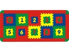 Коврик с цифрами 10 дет. 150x68 см (арт. 45421)