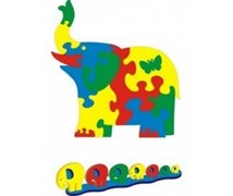 Коврик «Слон» 81х85