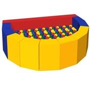 """Сухой бассейн с шариками Romana """"Долька"""", 160х100х50 см"""