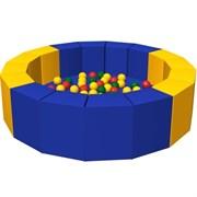 """Сухой бассейн с шариками Romana """"16 граней"""", 150х150х40 см"""