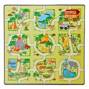 "Коврик-пазл ""Зоопарк"" Wonder toys"