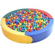 Модульный бассейн круглый Аконит-М 4 элемента, D.189х30х15 см