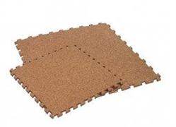 Мягкое напольное покрытие 30*30*0,8 см цвет Бежевый