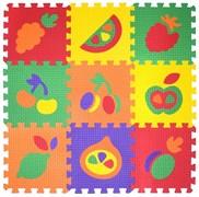 """Коврик-пазл BABYPUZZ (9 плит 33x33x1см, ~1кв.м./уп) """"Набор фрукты"""""""