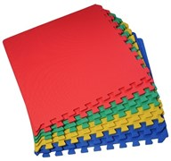 "Коврик-пазл BABYPUZZ (4 плиты 60x60x0,9см, 1,44кв.м./уп) ""Ассорти"""