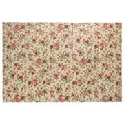 Детский складной коврик с изображением цветов, 200х140х1 см