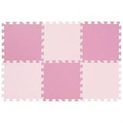 "Коврик-пазл Funkids 12"" без рисунка ""Симпл-12-10"", розовый, 6 плит, 30х30х1 см - серия NT10"