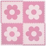 "Коврик-пазл 24"" Funkids ""ФлауерМат-24-10"", серия NT10, 60х60х1 см, розовый"
