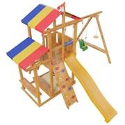 """Детская игровая деревянная площадка СМ """"Кирибати"""""""