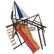 """Детская игровая деревянная площадка-корабль СМ """"Фрегат"""""""