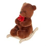 "Качалка ""Медведь люкс"", для кукол, 20х11х22см"