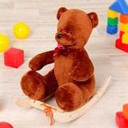"""Качалка """"Медведь люкс"""", 40 см, для кукол, 34х15х33 см"""