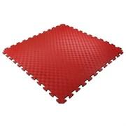 Покрытие для детских игровых зон 100х100х1,5см с кромками, красный