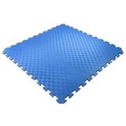 Покрытие для детских игровых зон 100х100х1,5см с кромками, синий