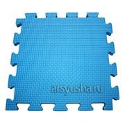 "Коврик-пазл BABYPUZZ (4 плиты 50x50x1см, 1кв.м./уп) ""Голубой"""