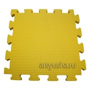 "Коврик-пазл BABYPUZZ (4 плиты 50x50x1см, 1кв.м./уп) ""Желтый"""