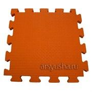 """Коврик-пазл BABYPUZZ (4 плиты 50x50x2см, 1кв.м./уп) """"Оранжевый"""""""