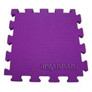 """Коврик-пазл BABYPUZZ (4 плиты 50x50x2см, 1кв.м./уп) """"Фиолетовый"""""""