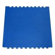 """Будо-мат (татами) BABYPUZZ (1 плита 100x100x2,5см, 1кв.м./уп) """"Синий"""""""