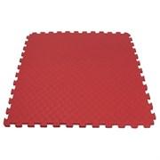 """Будо-мат (татами) BABYPUZZ (1 плита 100x100x4см, 1кв.м./уп) """"Красный"""""""