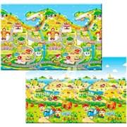 Детский игровой развивающий коврик ComFlor (двухсторонний) Fruit Farm (210 x 140 x 1,3)