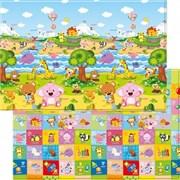 Детский игровой развивающий коврик ComFlor (двухсторонний) Pingko and Friends (210 x 140 x 1,3)