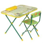 """Набор мебели """"Первоклашка"""": стол-парта, пенал, стул мягкий"""