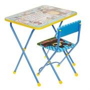 """Набор мебели """"Азбука 2. Маша и Медведь"""": стол, стул мягкий"""