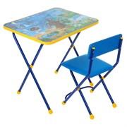 """Набор детской мебели """"Познайка. Хочу все знать!"""" складной, цвета стула МИКС"""