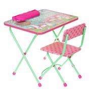 "Набор мебели "" Disney 1 . Доктор Плюшева"": стол, пенал, стул мягкий"