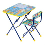 "Набор мебели ""Никки.Первоклашка-осень"": стол,стул"