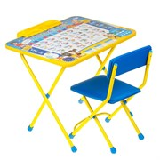 "Набор мебели ""Познайка"": стол, стул , пенал"