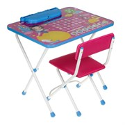 "Набор мебели ""Белоснежка"": стол, пенал, стул мягкий"