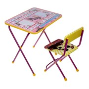 """Набор детской мебели """"Маша и Медведь. Азбука 3"""" складной, цвета стула МИКС"""